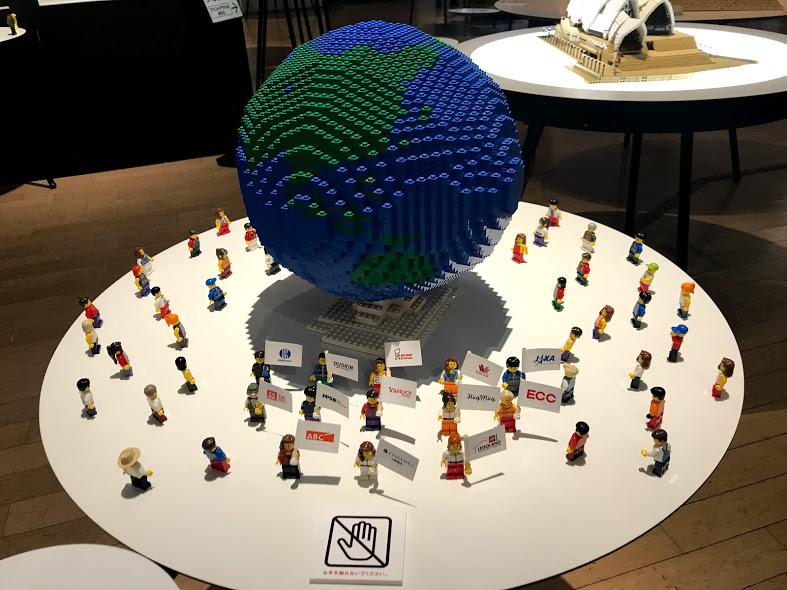 レゴブロックで作った世界遺産展に行ってきた