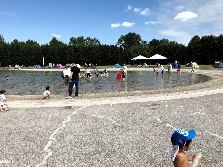 モエレ沼公園で水遊び!便利な駐車場や感想など|水遊びに最適な時期は??