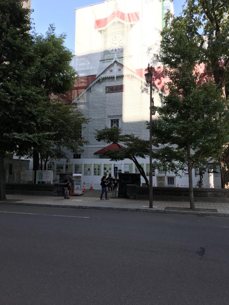 札幌がっかり観光名所「札幌時計台」が大変なことに!!